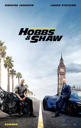 Poster Of Fast & Furious Presents: Hobbs & Shaw 2019 In Hindi Bluray 1080P Free Download