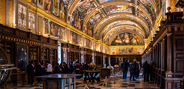 Biblioteca del Monasterio de El Escorial