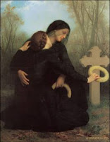 O Dia da Morte; pintura de William-Adolphe Bouguereau (1825-1905)
