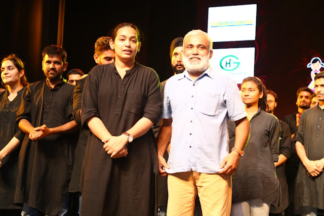 Indian Television Actor Shilpi Marwaha and Indian Theatre Director Arvind Gaur