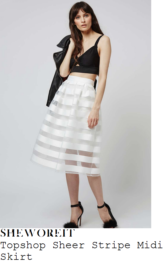 vicky-pattison-topshop-white-sheer-stripe-full-midi-skirt