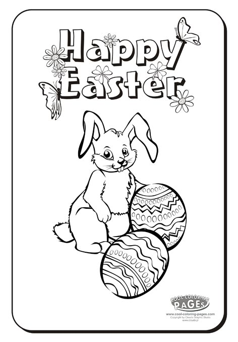 Christian easter coloring pages for Religious easter coloring pages