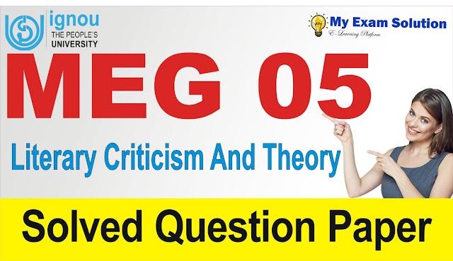 meg 05, literary theory and criticism, literary theory meg 05,