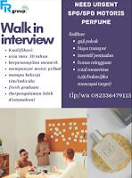 Walk In Interview at FR Group Surabaya Juni 2021