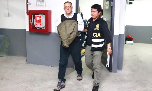 Detenido Pier Figari asesor de Keiko Fujimori
