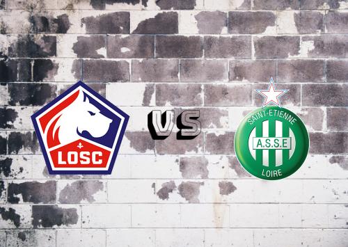 Lille vs Saint-Étienne  Resumen