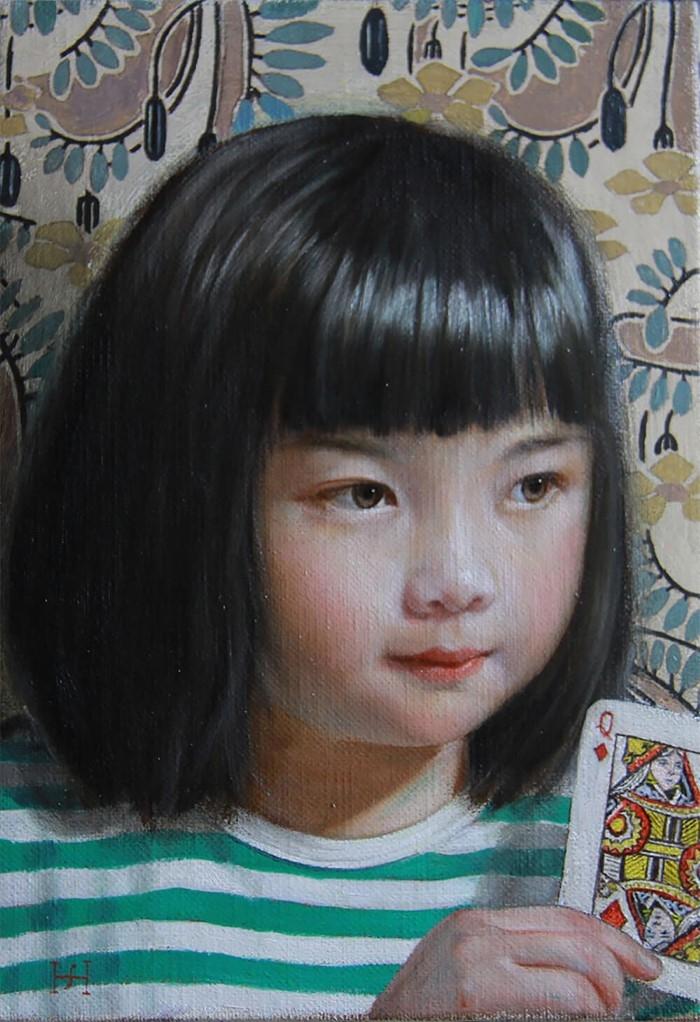 Японский художник. Hiroki Fukuda