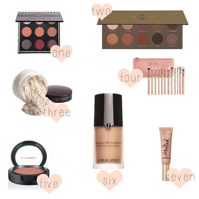 makeup wishlist makeup geek too faced zoeva giorgio armarni laura mercier