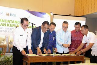 30 BumDesa di Buleleng Bali Dapat Bantuan Usaha AMDK
