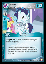 My Little Pony Soarin, Gold Medalist Equestrian Odysseys CCG Card