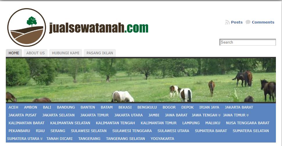 Jual Tanah Lebih Mudah dan Cepat Lewat SItus Jualsewatanah.com