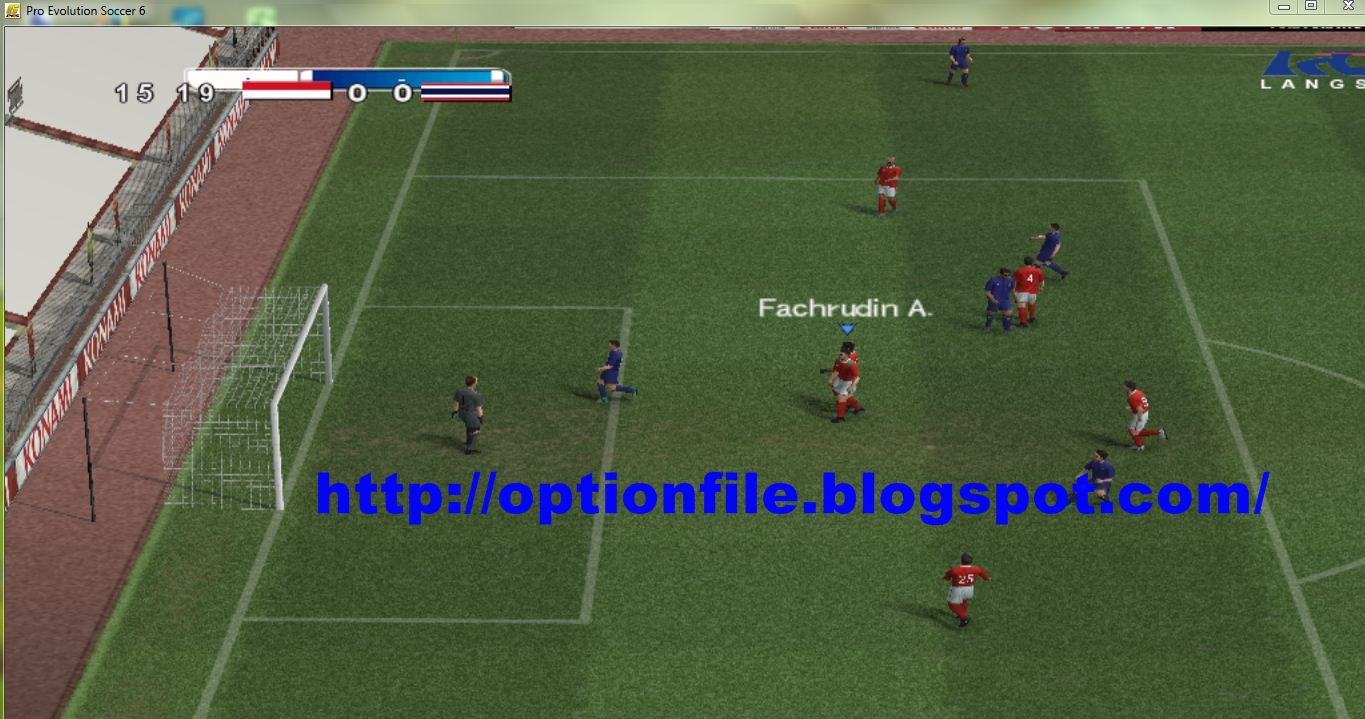 Pes 6 Option File Update Pemain Piala AFF Suzuki Cup 2016
