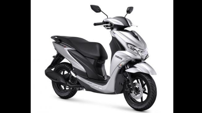 Yamaha FreeGo tipe S dan tipe S-ABS Version warna Prestige White [PT YIMM]