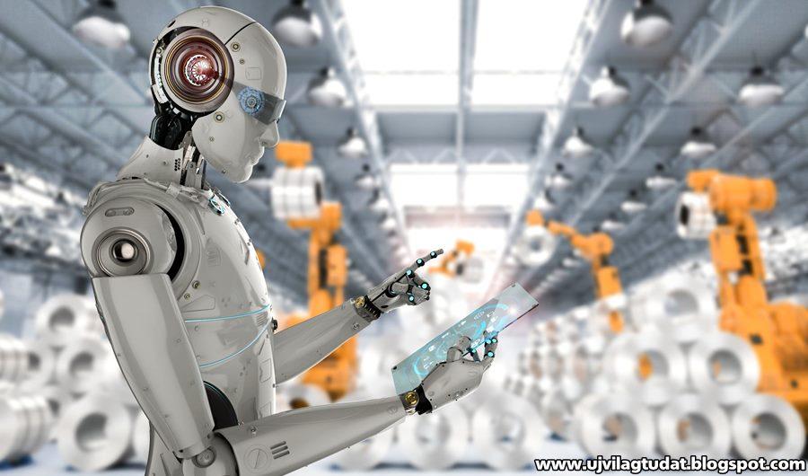 robot pénzt keresni