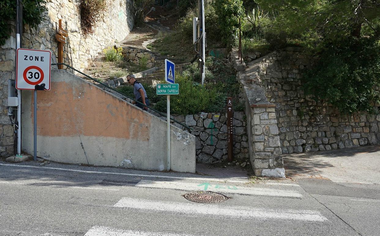 Route de Serra Capecu