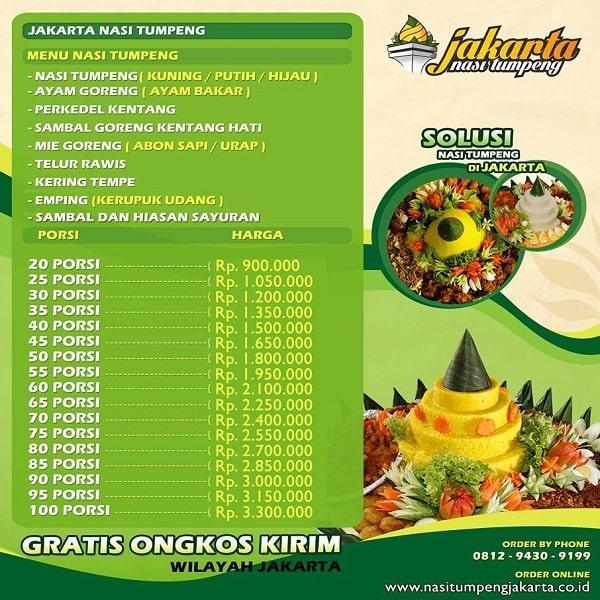 Nasi Tumpeng Jakarta