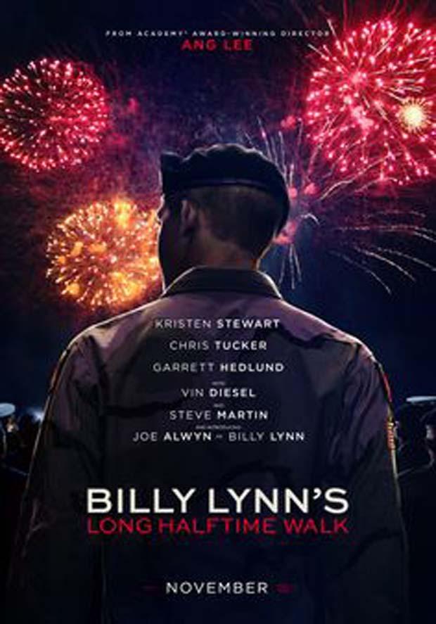 مشاهدة فيلم Billy Lynn's Long Halftime Walk مترجم مباشر اون لاين
