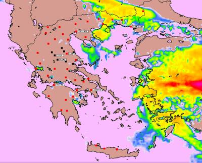 %25601 - Υψηλές θερμοκρασίες και επιλεκτικές βροχές την Παρασκευή