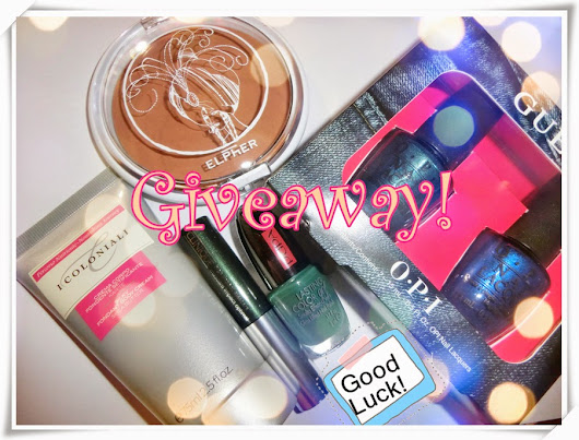My First *Giveaway* for you!