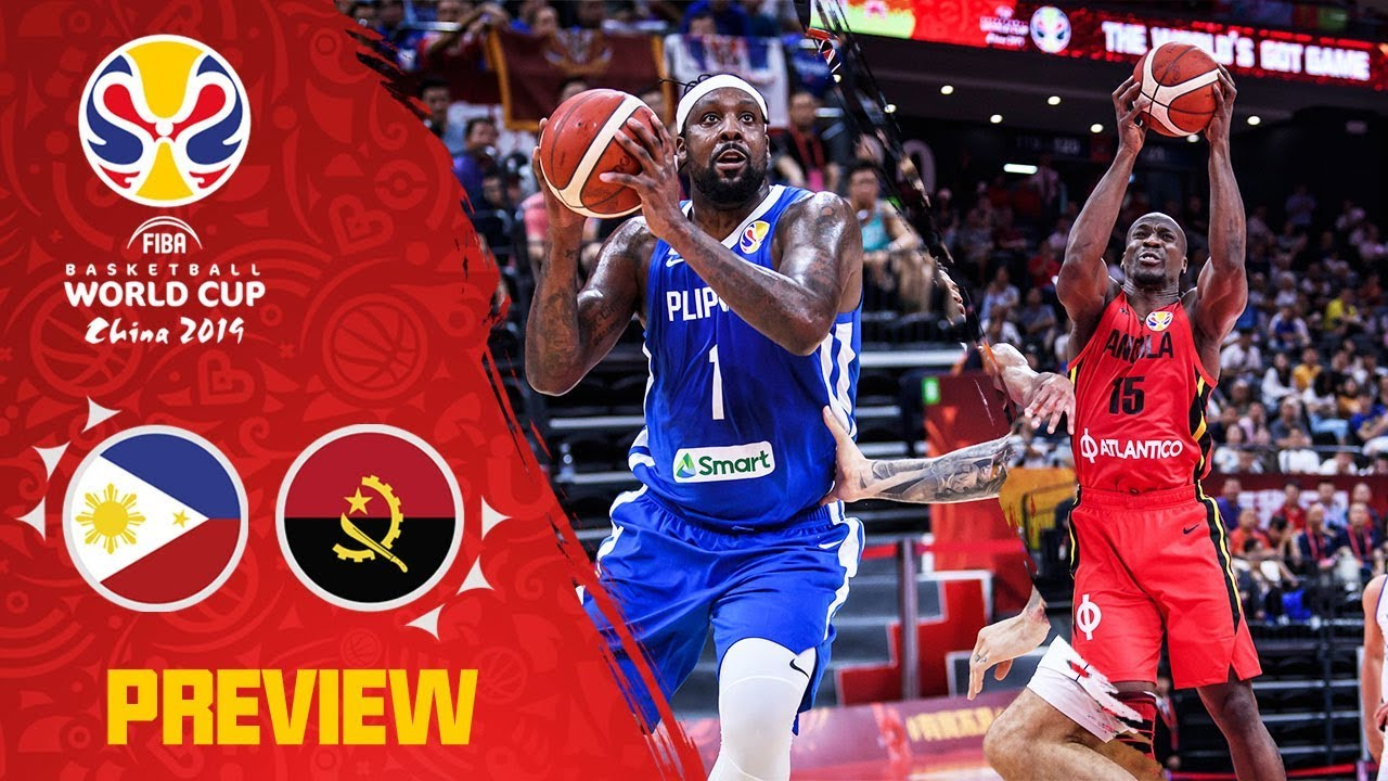 Gilas Pilipinas vs. Angola - Preview (VIDEO) Best Plays / FIBA World Cup 2019