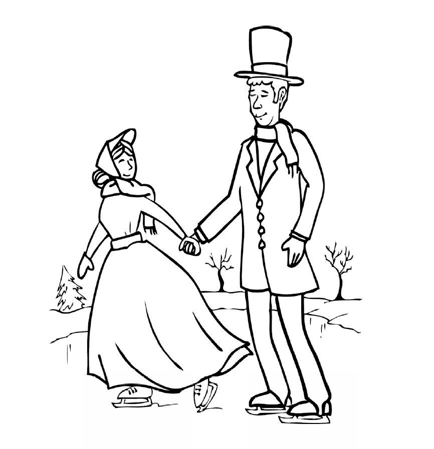 Charles Dickens Christmas Carol Coloring Pages Coloring Pages