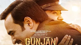 Film 'Gunjan Saxena: The Kargil Girl' poster