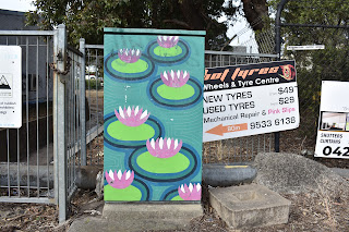 Painted Traffic Signal Box in Riverwood, Sydney