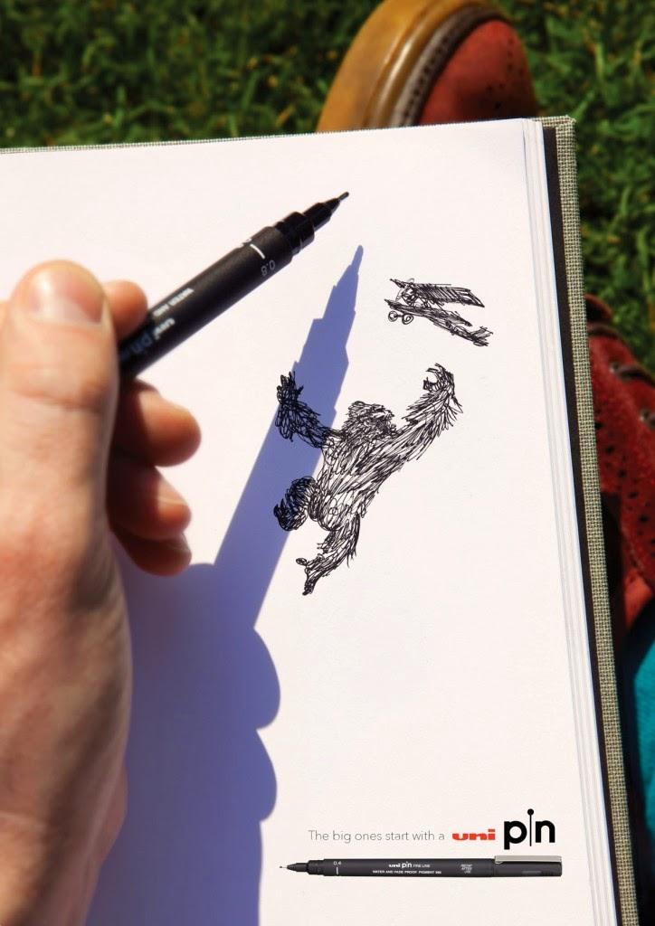 Ilustración de king Kong
