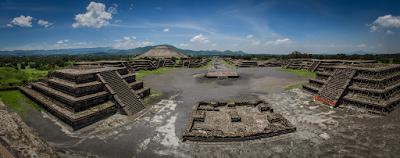 Arqueólogos descobrem um mapa do universo abaixo Teotihuacan