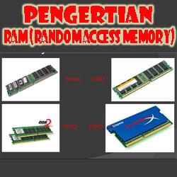 Pengertian RAM (Random Access Memory)