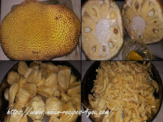 Jackfruit recipe in hindi by aju