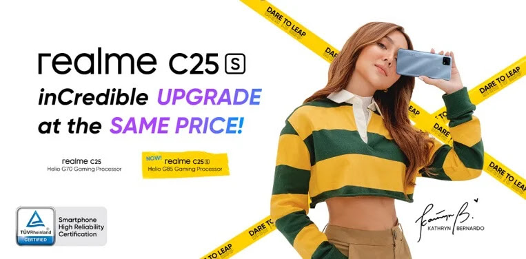 realme C25S Unveils in PH for as low as Php6,490 on June 15 Exclusively on Shopee