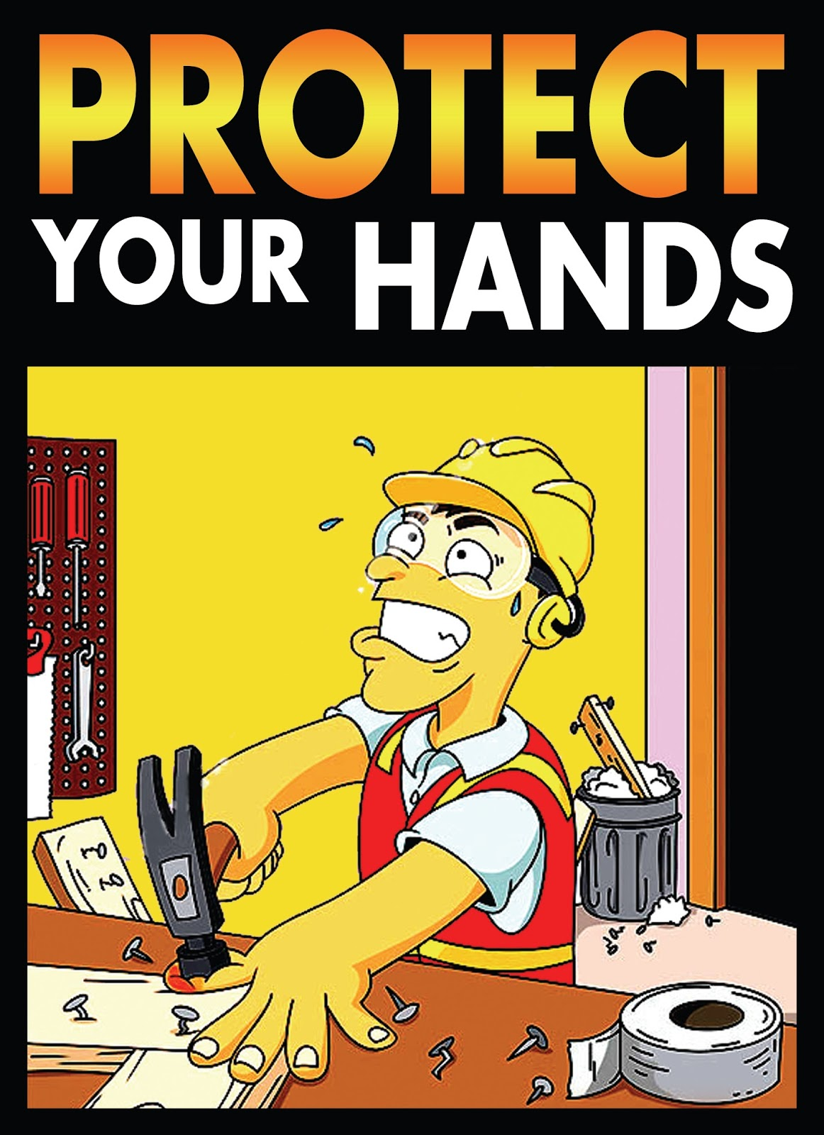Safety Posters Hand Safety Slogans And Poster Hd Wallpapers