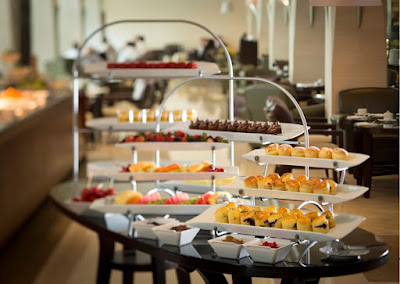 Source: Goodwood Park Hotel. English afternoon tea delights at L'Espresso.