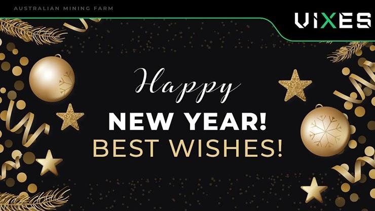 Новогоднее поздравления от Vixes