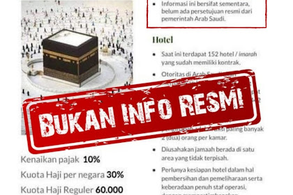 KJRI Jeddah: Kabar Kuota Haji Reguler Maupun Khusus Bukan Info Resmi