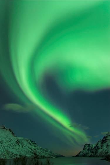 Laponia Noruega es la tierra favorita del invierno.