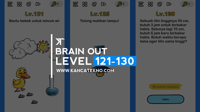 Kunci Jawaban Brain Out Level 121-130