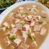 Sup Tahu Daging Cincang - Resep Olahan Tahu