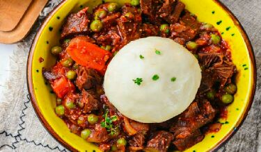 What is the national food of Africa?