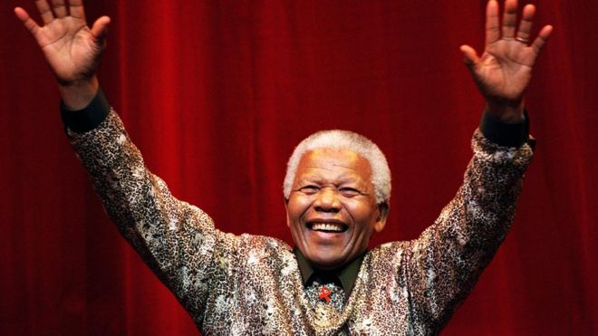 Nelson Mandela's golden hand casts sell for $10m in bitcoin