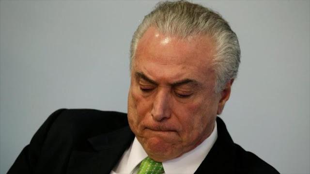 Policía de Brasil confirma veracidad de audio que inculpa a Temer