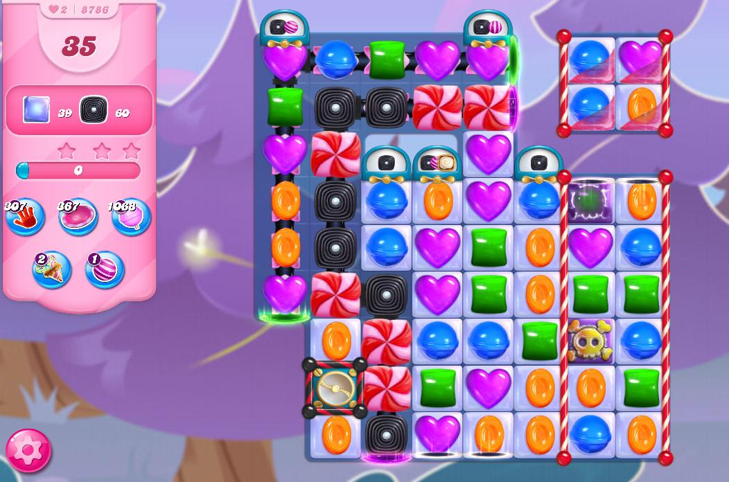 Candy Crush Saga level 8786