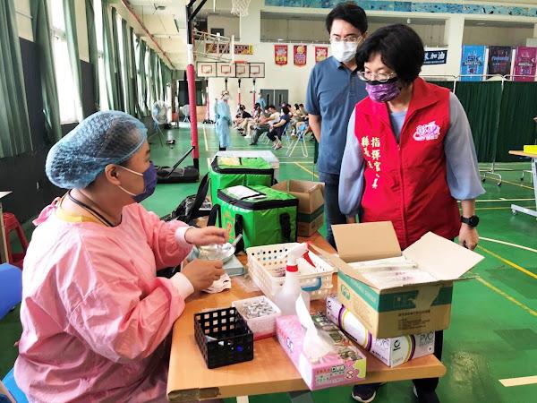 彰化縣第四輪疫苗預約接種 38歲以上今開打疫苗