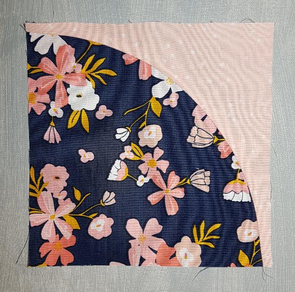 How to sew Drunkard's Path quilt blocks | DevotedQuilter.com