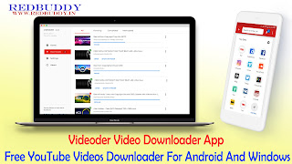 Videoder Video Downloader App - Free YouTube Videos Downloader For Android And Windows