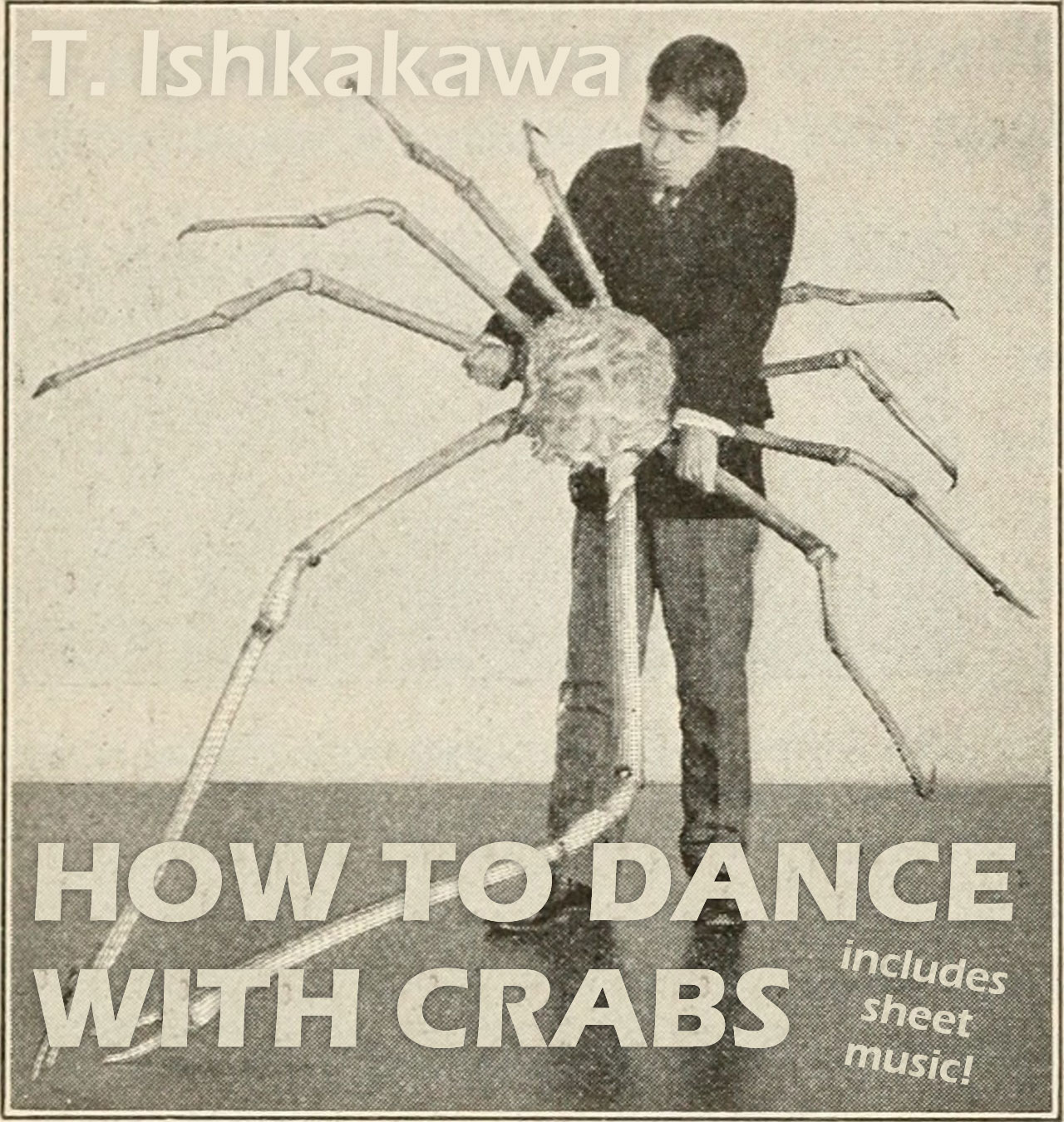 How to dance with crabs © Graeme Walker / The Pebble Museum 2019
