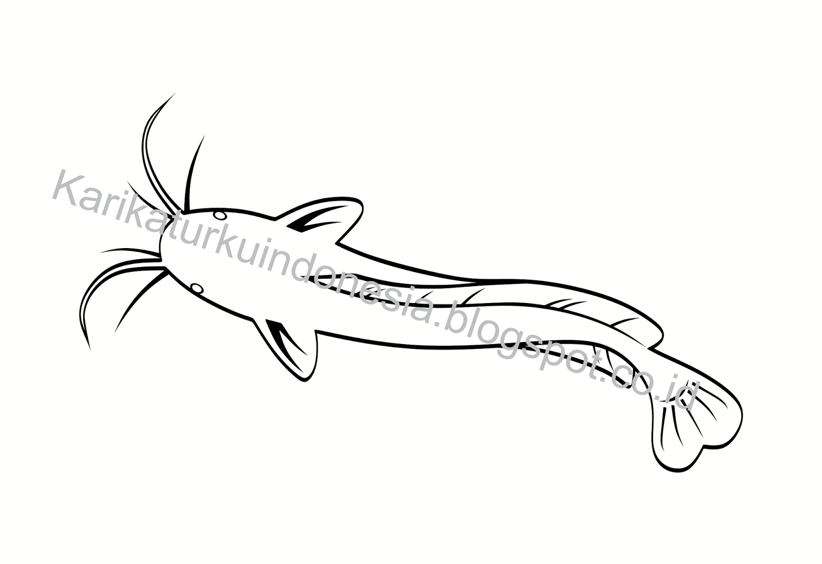 Gambar Karikaturku Indonesia Tentang Ikan Lele Mewarnai November Nila Di Rebanas Rebanas