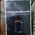 "Error Pesan "" Do not cover the earpiece area ""  di Xiaomi, begini solusinya"