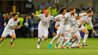ضربات الجزاء ريال مدريد وأتلتيكو مدريد 5-3 (الأهداف 1-1+ركلات الترجيح) الشوالي نهائي دوري الأبطال HD